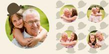 Fotokniha Milovanému dědečkovi, 20x20 cm