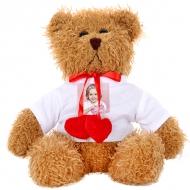 Plyšák Medvídek hnědý se srdíčky, Váš návrh medvídek hnědý