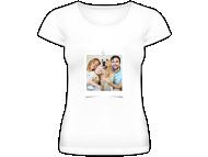 Tričko dámské, Fotografie na tričku