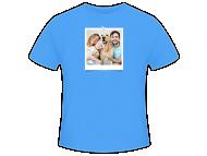 Tričko pánská, Fotografie na tričku