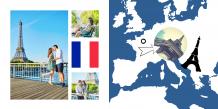 Fotokniha Francie - prázdninové dobrodružství, 30x30 cm