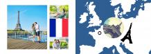 Fotokniha Francie - prázdninové dobrodružství, 30x20 cm