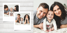Fotokniha Nejčerstvější vzpomínky, 20x20 cm