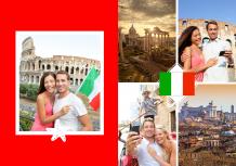 Fotokniha Itálie - prázdninové dobrodružství, 20x30 cm