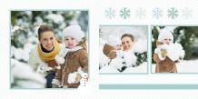 Fotokniha Naše zimní chvíle, 20x20 cm