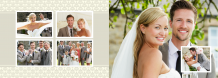 Fotokniha Vzpomínka na naši svatbu, 30x20 cm