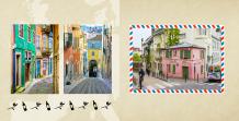 Fotokniha Naše cesta po Evropě, 20x20 cm