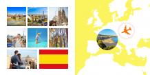 Fotokniha Španělsko - prázdninové dobrodružství, 30x30 cm