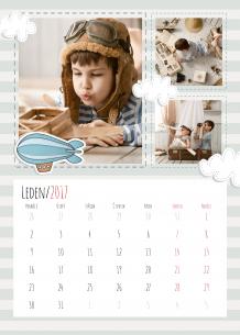 Kalendář, Dětské dobrodružství, 20x30 cm