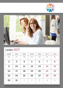 Kalendář, Firemní kalendář, 30x40 cm