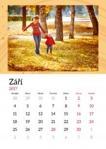 Kalendář, Krásných 365 dní, 30x40 cm