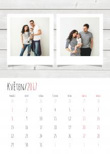 Kalendář, Nejčerstvější vzpomínky, 30x40 cm