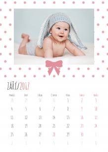 Kalendář, Naše drobátka, 20x30 cm