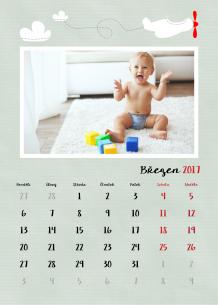 Kalendář, Mé první velké chvíle, 20x30 cm