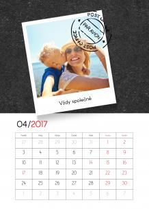 Kalendář, Tabule vzpomínek, 20x30 cm