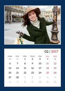 Kalendář, Hezký kalendář, 30x40 cm