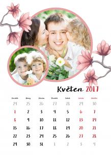 Kalendář, Jaro celý rok, 30x40 cm