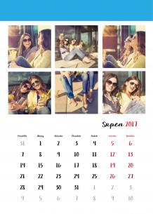 Kalendář, Tvoje fotografie z Instagramu, 30x40 cm