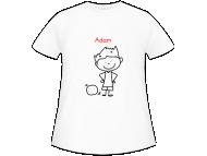Tričko dětská, Žákovské tričko