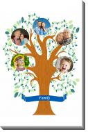 Obraz, Rodinný strom, 20x30 cm