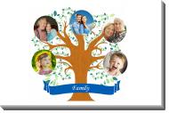 Obraz, Rodinný strom, 30x20 cm