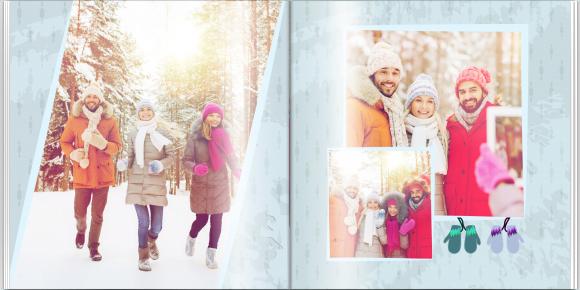 Fotokniha Vzpomínky na celý rok, 30x30 cm