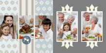 Fotokniha Rodinné setkání, 25x25 cm
