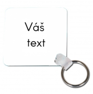 Přívěsek Váš text, 6x6 cm