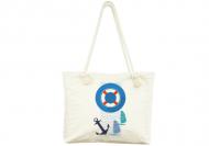 Plážová taška, 45x40, Plachetnicová nálada