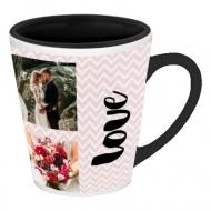 Hrnek latte, Svatební koláž