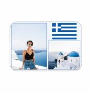 Přívěsek Řecko, 6x4 cm