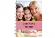 Sešit Zápisník na recepty, 15x21 cm