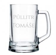 Pivní půllitr Půllitr Tomáše