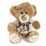 Plyšák Medvídek s kostkovanou mašlí, Váš návrh medvídek s mašlí