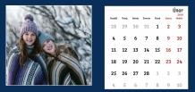 Kalendář, Hezký kalendář, 22x10 cm