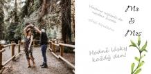 Fotokniha Svatební kniha hostů, 20x20 cm