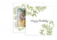 Fotopřání Happy Birthday , 14x14 cm