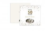 Fotopřání K 50. výročí svatby, 14x14 cm