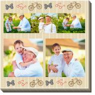 Obraz, Milovanému dědečkovi, 30x30 cm