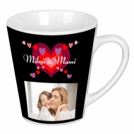 Hrnek latte, Mami, milujeme tě!