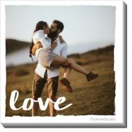 Obraz, Tohle je láska , 30x30 cm