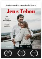 Plakát, Jen s Tebou , 30x40 cm