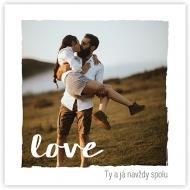 Plakát, To je láska, 30x30 cm