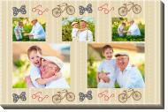 Obraz, Milovanému dědečkovi, 40x30 cm