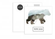 Fotopřání Pohlednice - Vzpomínka na Tatry, 14x14 cm