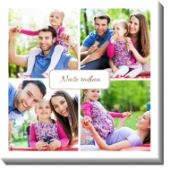 Obraz, Moje rodinka, 30x30 cm