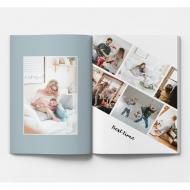 Měkká fotokniha Rodinná, 15x20 cm