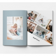 Měkká fotokniha Rodinná, 20x30 cm