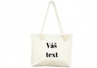 Plážová taška, 45x40, Váš text