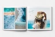 Měkká fotokniha Oceán, 20x20 cm